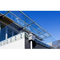 Deck railing designs with Stainless Steel glass standoff decorative porch railing Manufactures