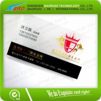 clear plastic magnetic stripe cards Manufactures
