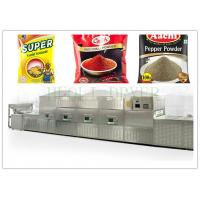 Buy cheap Microwave Chicken Powder Drying Equipment / Sensoning Powder Microwave Drying Equipment from wholesalers