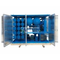 Buy cheap 18000LPH Vacuum Insulation Oil Regeneration Purifier with Silica Gel Material from wholesalers