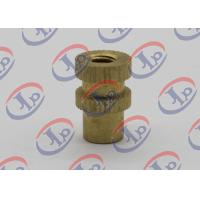 Buy cheap Lathe Turning Turned Metal Parts , Brass Knurled Thumb Screws For Furniture product