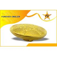 Gold Plating 3D Custom Metal Buttons , Brass Button For Jackets Manufactures