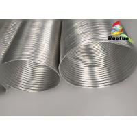 Buy cheap Fire Resistant Aluminum Flexible Duct Pipe Clean Surface For HVAC System from wholesalers