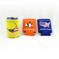 Wholesale Custom wholesale collapsible foldable neoprene beer cooler can holder size:10cmc*13cm  Material is neoprene from china suppliers