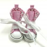 Buy cheap Causal Canvas Shoes Sports Shoes For Paola Reina Doll,6CM High Boots for 1/4 BJD Dolls,Mini Gym Shoes BJD Footwear from wholesalers