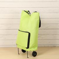 Buy cheap Market Foldable Reusable Shopping Bags 2 Wheels Luggage Vegetable Trolley Bag from wholesalers