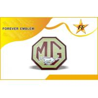 Buy cheap Metal Car Emblem , Car Names Stickers For Mg Badges , Mercedes-Benz , Bmw , Rover Car from wholesalers