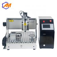 Buy cheap AMAN3040 3d cnc copper router machine computer controlled wood carving machine 3040 with high speed from wholesalers