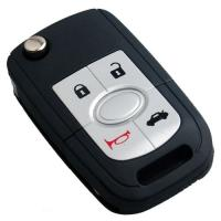 Buy cheap Buick Key Replacement 5 Button Modified Flip Remote Car Key Blanks Key Cover from wholesalers