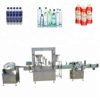 Buy cheap Piston Pump Syrup Filling Machine , 50ml - 1000ml Automatic Beer Filling Machine from wholesalers