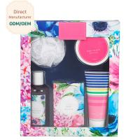 Buy cheap OEM Travel Body Care Bath Gift Set , Women'S Bath And Body Gift Sets from wholesalers