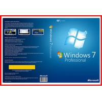 Buy cheap English version 32bit 64 bit windows 7 professional DVD with OEM KEY Licence from wholesalers