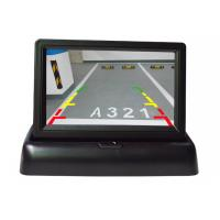 Buy cheap Foldable Car Rear View Mirror Monitor , 4.3 Inch Touch Screen Monitor For Car from wholesalers