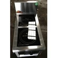 2.4Kw Commcercial Induction Cooker 2 Zone , Commercial Induction Hob