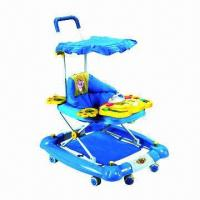 Buy cheap Baby Walker with Music Function and Adjustable Height, Available in Various Colors, CE-certified  from wholesalers