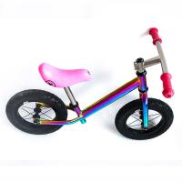 Buy cheap Super Light Titanium Balance Bike Ti Bicycle Without Pedal Impact Resistance from wholesalers