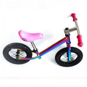 China Super Light Titanium Balance Bike Ti Bicycle Without Pedal Impact Resistance on sale