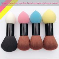 Wholesale Double Head Makeup Foundation Brush Powder Puff  Synthetic Hair and Sponge Hair Material from china suppliers