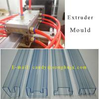 Wholesale IC packing tube making extrusion product line extruder for IC packing pipe from china suppliers