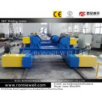 Automatic Pipe Welding Turning Rolls Motorized For Pressure Vessels Manufactures