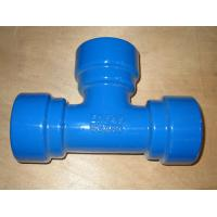 Buy cheap Ductile Iron Pipe Manufacturer with high-Aluminum cement mortar lining product