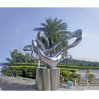 Buy cheap Square Garden Landscape Statues Abstract Floating Clouds And Flowing Water from wholesalers