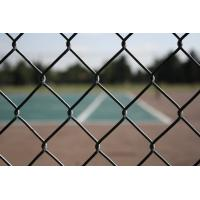 Buy cheap Heavy duty Black Chain Link Fence Cost 1.8m*15m*50mm*50mm*3.5mm from wholesalers