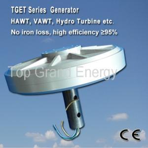 TGET380-5kW-500R Coreless PMG generator/wind alternator, three phase