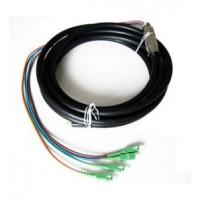 Wholesale Outdoor Waterproof Fiber Optic Pigtail Anti Corrosion Strong Tensile Ability from china suppliers