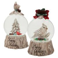 Buy cheap polyresin Xmas led light water globe from wholesalers