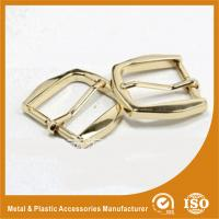 Buy cheap Gold Metal Pin Buckle 25X34.7X38MM OEM Fashion Handbag Buckle Zinc Material product