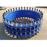 Wholesale PN 10 Ductile Iron Joints PN10 Mechanical Conection With Black End Cap from china suppliers