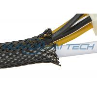 Wholesale Fire Resistant PET Expandable Braided Sleeving For Cable Hose Protection from china suppliers