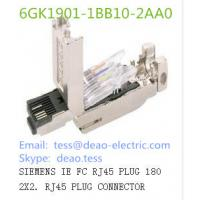 Buy cheap SIEMENS IE FC RJ45 PLUG 180 2X2. RJ45 PLUG CONNECTOR 6GK1901-1BB10-2AA0 from wholesalers