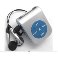 Wholesale digital multi-function FM radio step counter pedometer from china suppliers