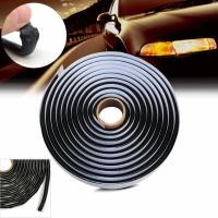 Buy cheap Car Headlamps Window Door Windshield black Butyl  waterproof Tape round and square type from wholesalers