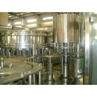 Buy cheap High Performance Pet Bottle Filling Machine , Soda Water Filling Production Line PLC Control from wholesalers