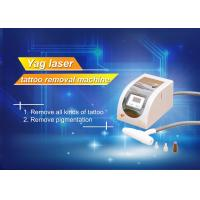 Buy cheap 1064 / 532nm 110V - 240V Tattoo Removal Machine 1000mJ Energy from wholesalers