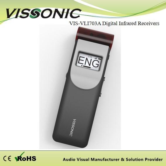 Quality Infrared Wireless Interpretation System , Translation Receivers For Simultaneous Interpretation for sale