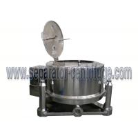 Alcohol Washing And Drying Pharma Centrifuge Machine For Cannabis Extraction for sale