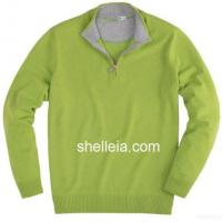 Buy cheap Mens Cashmere Sweater, Mens Zipper Cardigan, Man's Merino Pullover from wholesalers