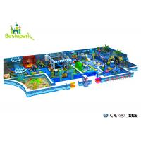 Wholesale Customized Toddler Indoor Playground , Fun Play Indoor Playground With Galvanized Pipe from china suppliers