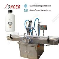Buy cheap Automatic liquid bottle juice filling machine,Hot Sale Automatic Drinking Bottled Filing Machine from wholesalers