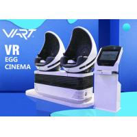 Buy cheap 360 Degree Rotation 9D VR Cinema In DUBAI , Double Players Amazing Roller Coaster 9D VR Chair from wholesalers