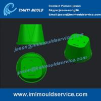 Buy cheap thin wall plastic cups molded,PP thin wall plastic cups molded design, iml cup mold from wholesalers
