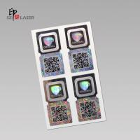 Buy cheap Silver Laser hologram original sticker with custom logo from wholesalers