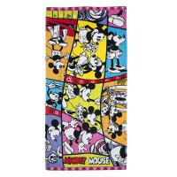 Wholesale Mickey Disney Group Plain Bath Towels , Jacquard Cotton Beach Towels from china suppliers