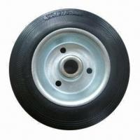 Buy cheap 5-inch Solid Rubber Wheel, Ideal for Tool Cart and Machine from wholesalers