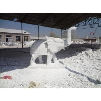 Wholesale hand craved stone elephant statue from china suppliers