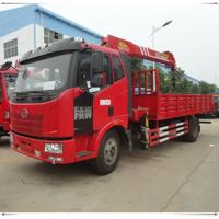 Buy cheap FAW 6.3 ton truck crane for sale from wholesalers